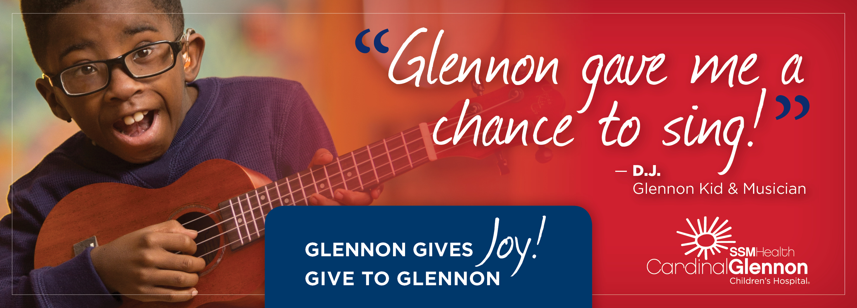 """Glennon gave me the chance to say """"I Do!"""" - Joey Renick"""