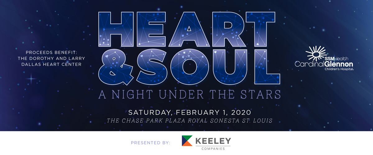 Join us for Heart and Soul Saturday, February 1 at the Chase Park Plaza to benefit the Dallas Heart Center