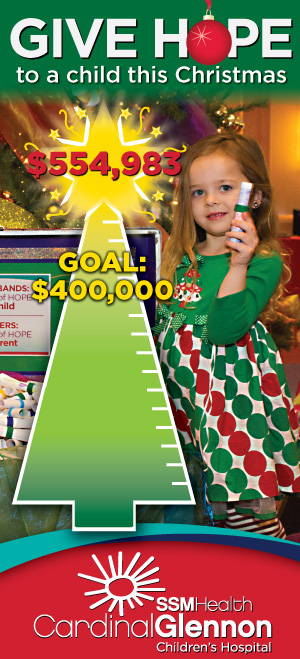 Tree of Hope Thermometer - $554,983