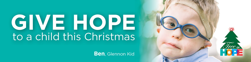 Tree of Hope - Give Hope to a Child at Cardinal Glennon