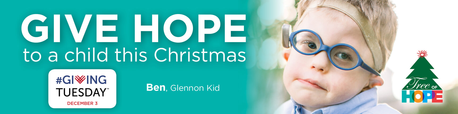 #GivingTuesday - Give hope to a child at Cardinal Glennon through the Tree of Hope